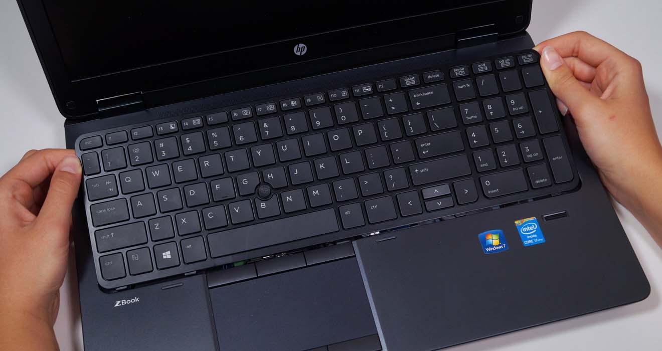 Популярные поломки ноутбуков HP