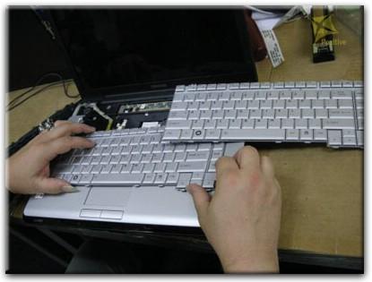Ремонт клавиатуры на ноутбуке на дому