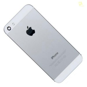 Корпус для Apple iPhone 5 серый с белым