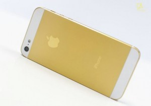 Корпус для Apple iPhone 5 золото
