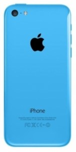 Корпус для Apple iPhone 5C синий