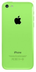 Корпус Apple iPhone 5C зеленый