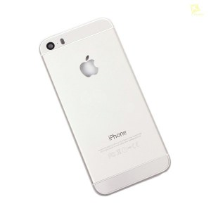 Корпус для Apple iPhone 5S серебро