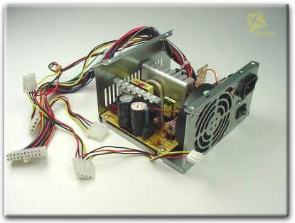Блока питания компьютера замена